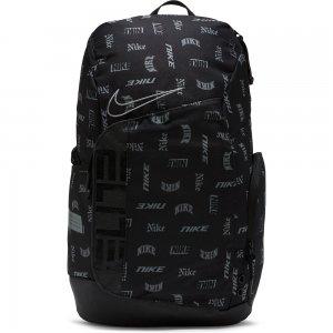 Hoops Elite Printed Basketball Backpack (Small) Nike. Цвет: черный