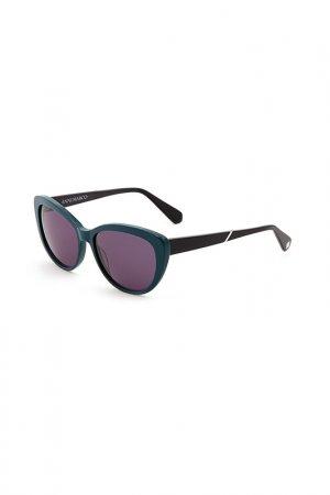 Очки солнцезащитные Enni Marco. Цвет: бирюзовый