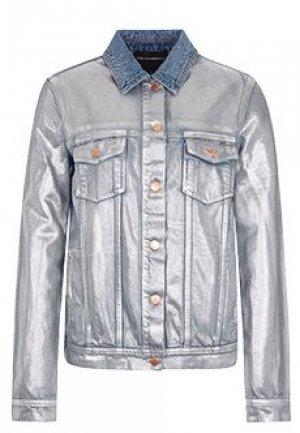 Куртка EMPORIO ARMANI. Цвет: белый