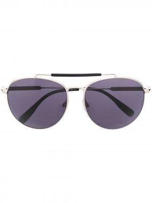 Солнцезащитные очки-авиаторы Dsquared2 Eyewear. Цвет: серебристый