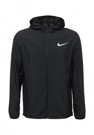 Ветровка Nike Mens Essential Hooded Running Jacket. Цвет: серый