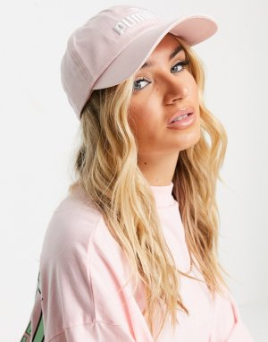 Розовая кепка essentials-Розовый цвет Puma