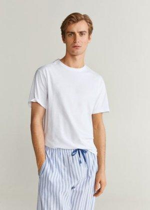 Комплект пижама из хлопка - Pyjamast Mango. Цвет: темно-синий