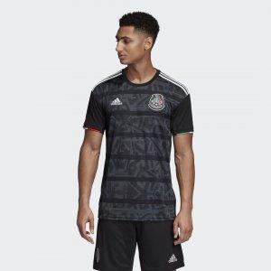 Домашняя игровая футболка сборной Мексики Performance adidas. Цвет: черный
