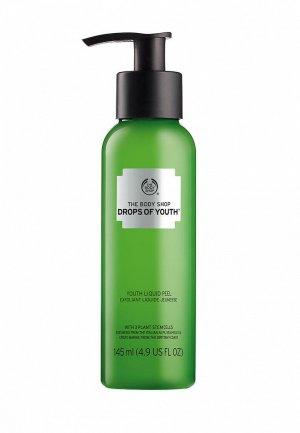 Пилинг для лица The Body Shop Drops of Youth, 145 мл. Цвет: зеленый