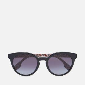 Солнцезащитные очки Amelia Burberry. Цвет: чёрный