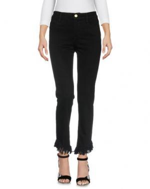 Джинсовые брюки FRAME. Цвет: черный
