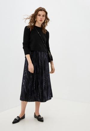 Платье и джемпер AllSaints. Цвет: черный
