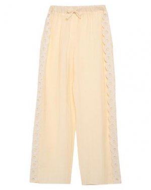 Повседневные брюки COMPAGNIA ITALIANA. Цвет: слоновая кость