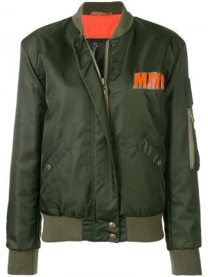 Куртка-бомбер с логотипом Mr & Mrs Italy
