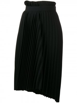 Плиссированная юбка Fancy Balenciaga. Цвет: черный