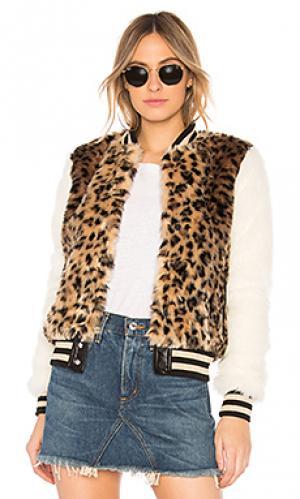 Куртка MOTHER. Цвет: коричневый
