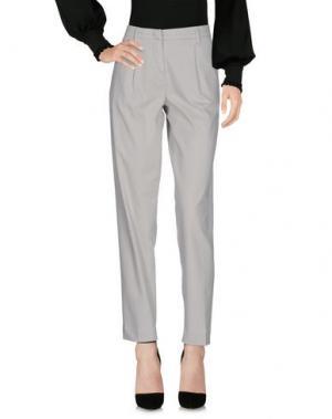 Повседневные брюки MASON'S. Цвет: светло-серый