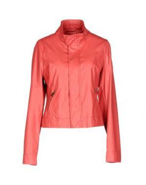 Куртка REFRIGUE. Цвет: коралловый