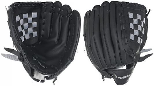 Перчатка бейсбольная Torneo. Цвет: черный