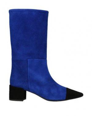 Сапоги ANNA F.. Цвет: ярко-синий