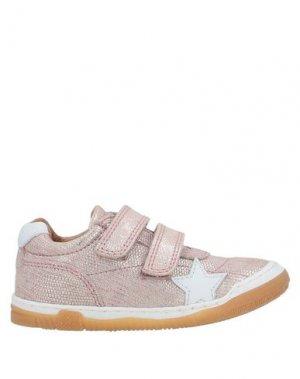 Низкие кеды и кроссовки BISGAARD. Цвет: пастельно-розовый