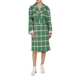 Пальто S32AH0058 зеленый MM6 MAISON MARGIELA