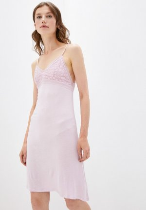 Сорочка ночная Befree. Цвет: розовый