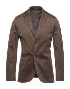Пиджак LORO PIANA. Цвет: коричневый