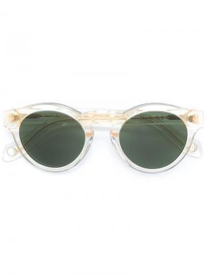 Солнцезащитные очки Marte Monocle Eyewear. Цвет: телесный