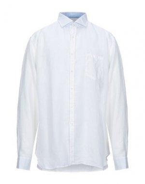 Pубашка GHERARDINI. Цвет: белый