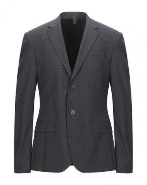 Пиджак DIRK BIKKEMBERGS. Цвет: стальной серый