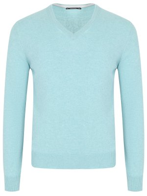 Пуловер из шерсти и кашемира VIADESTE