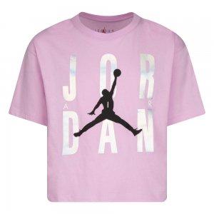 Graphic Tee Jordan. Цвет: фиолетовый
