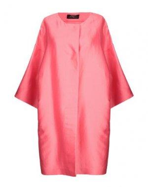 Легкое пальто LES COPAINS. Цвет: розовый