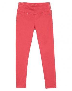 Джинсовые брюки GAUDÌ. Цвет: красный