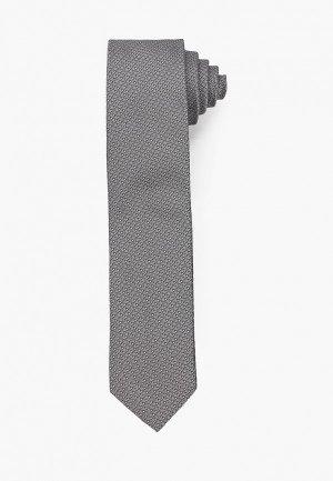 Галстук Hugo Tie cm 6. Цвет: серый