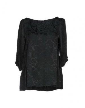 Блузка E-GÓ. Цвет: черный