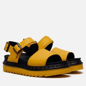 Женские сандалии Voss Dr. Martens. Цвет: жёлтый