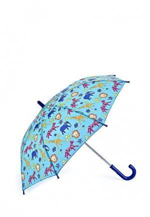 Зонт-трость Fulton. Цвет: голубой