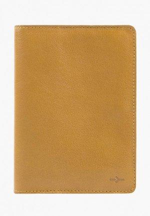 Обложка для паспорта Igor York. Цвет: коричневый