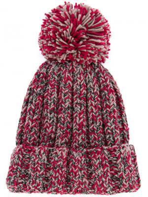 Шапка-бини Antonina Elbrus 711. Цвет: красный