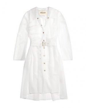 Легкое пальто A.W.A.K.E. MODE. Цвет: белый
