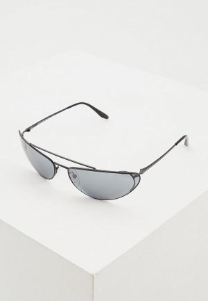 Очки солнцезащитные Prada PR 62VS 1AB5L0. Цвет: черный