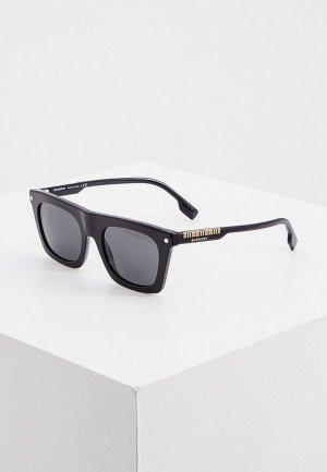 Очки солнцезащитные Burberry BE4318 300187. Цвет: черный