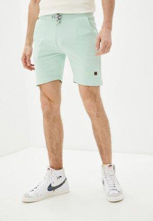 Шорты спортивные Indicode Jeans. Цвет: бирюзовый