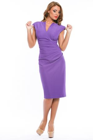 Платье Ines Collezione. Цвет: violet