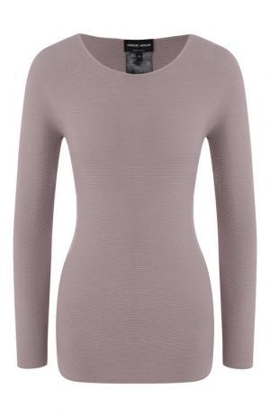 Пуловер Giorgio Armani. Цвет: розовый