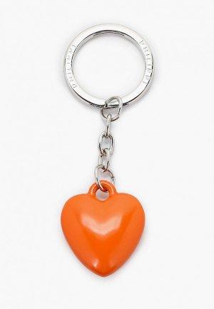 Брелок Philippi COEUR. Цвет: оранжевый