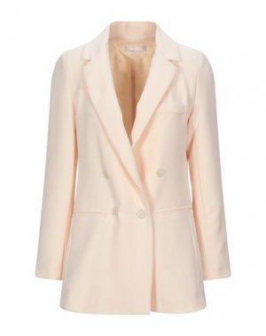 Пиджак PLEASE. Цвет: светло-розовый