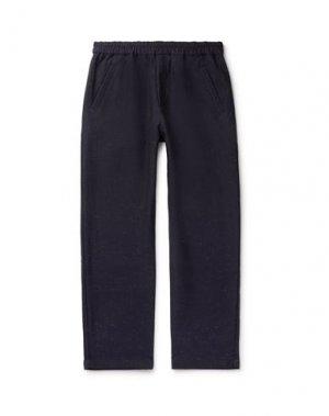 Повседневные брюки FOLK. Цвет: темно-синий