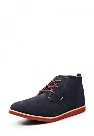 Ботинки Boxfresh DALSTON. Цвет: синий
