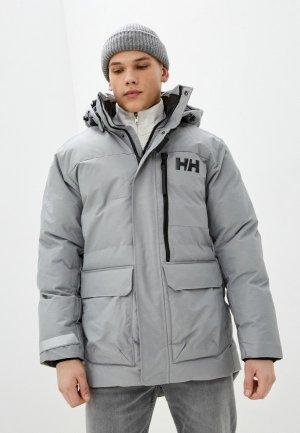 Куртка утепленная Helly Hansen TROMSOE JACKET. Цвет: серый