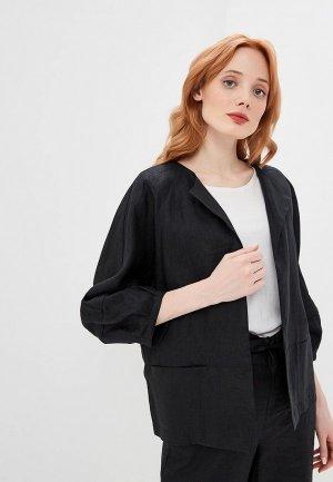 Жакет DKNY. Цвет: черный