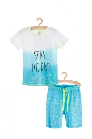 Пижама для мальчиков 5.10.15.. Цвет: голубой
